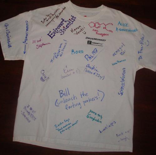 Autographed Shirt: Front