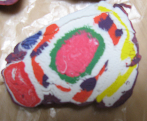 how to make model of animal cell with clay